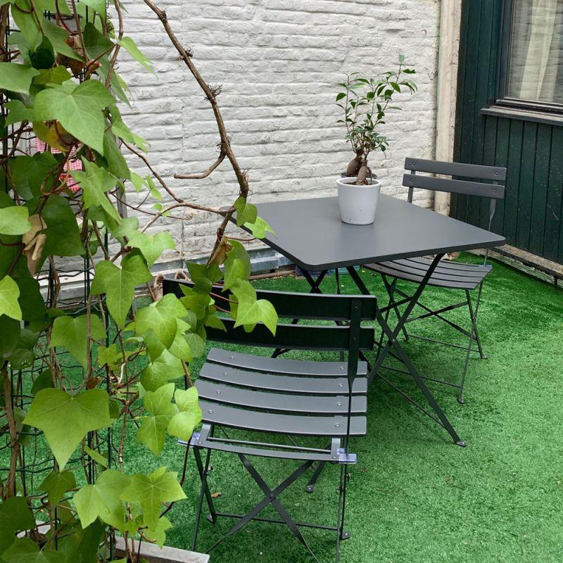 Salon de jardin bistrot pliable ANVERS