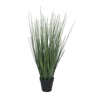 Herbe en pot artificielle