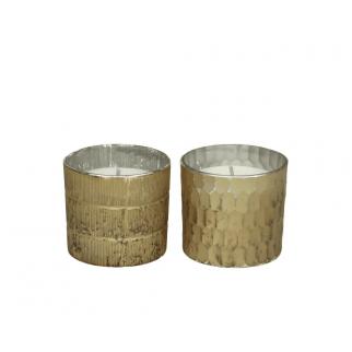 bougies parfumées or