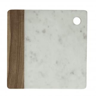 Plateau à fromage en marbre et bois IDLE