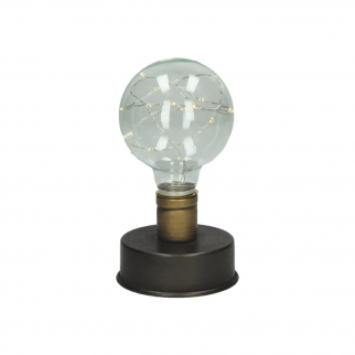 Lampe à poser ampoule LED JULES
