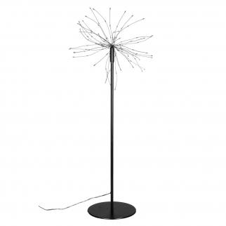 Guirlande en forme d'étoile sur pied H 50 cm