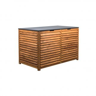 coffre de rangement exterieur en bois