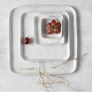 Grande assiette carrée