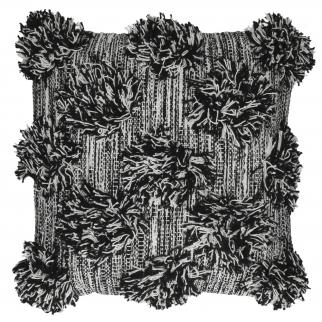 Coussin pompon en coton