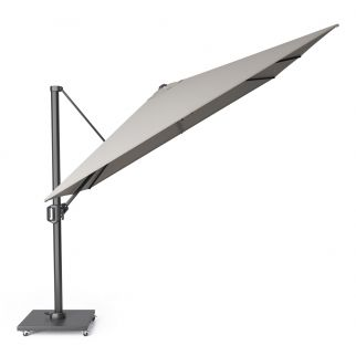 parasol deporte inclinable gris
