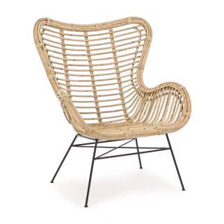 fauteuil extérieur rotin