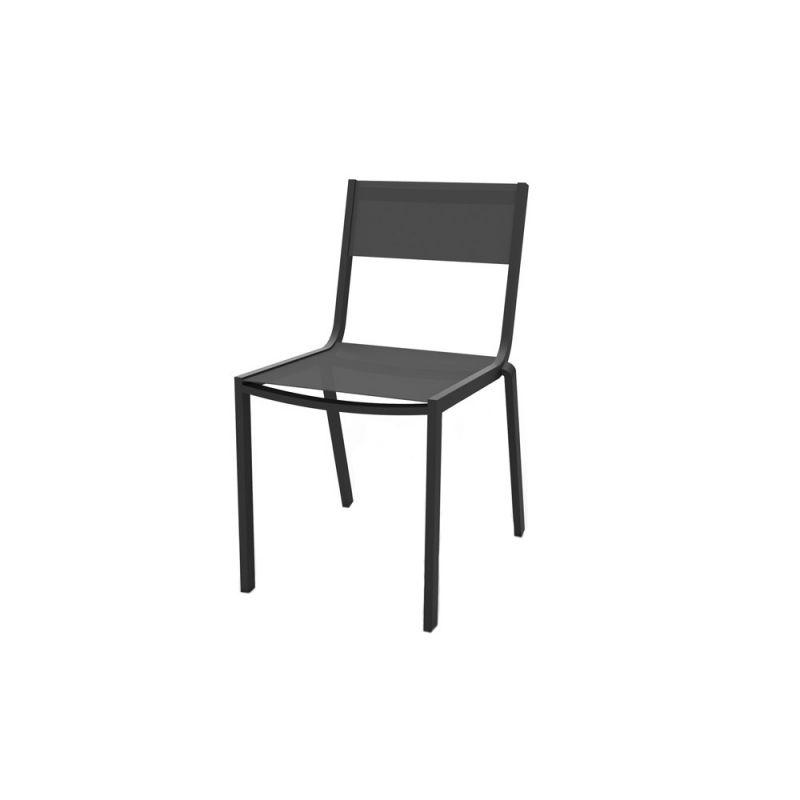 chaise textilene aluminium