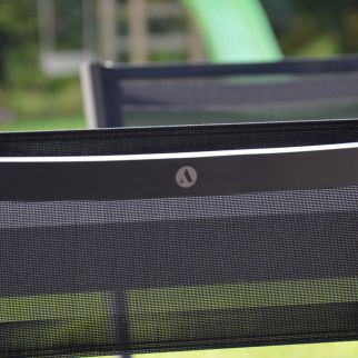 Chaise de jardin en aluminium et textilène BOHOL | Arbonie