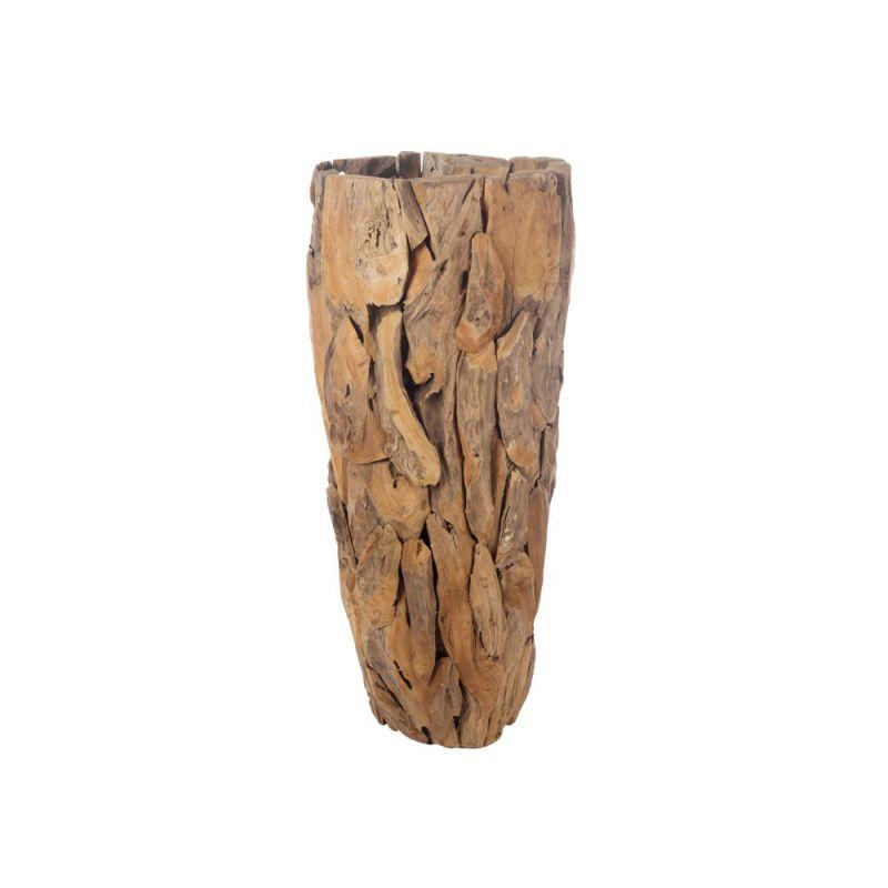 pot haut en bois