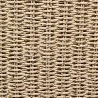 Canapé de jardin en Teck et fibre synthétique MARISOL | Arbonie
