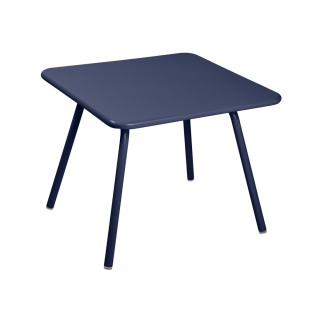 Table Kid Luxembourg 57x57 - Bleu Abysse