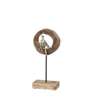 Sculpture personnage