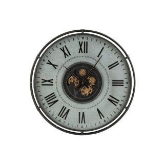 grande horloge murale engrenage
