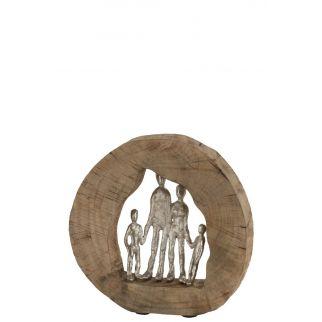 Sculpture en bois de manguier