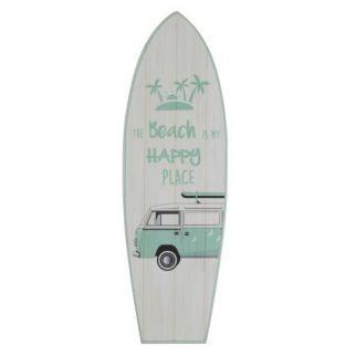 Planche de surf murale
