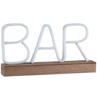 Lampe néon bar