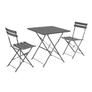 table bistrot metal
