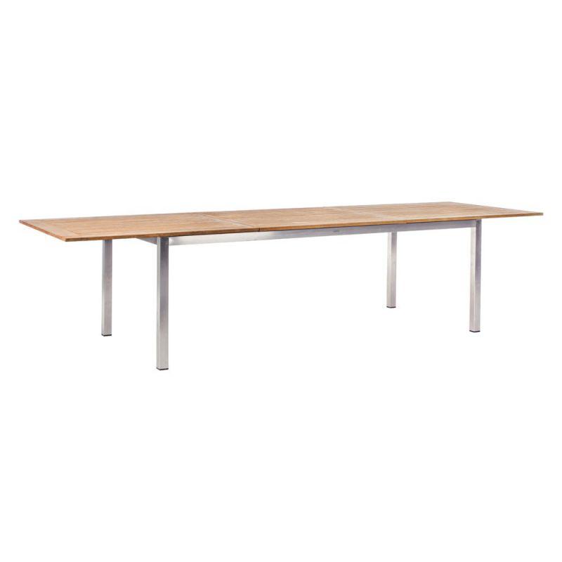 table jardin extensible bois
