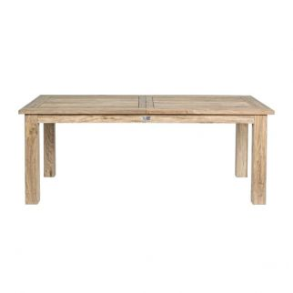 Table de jardin extensible MONTEVIDEO en Teck | Arbonie