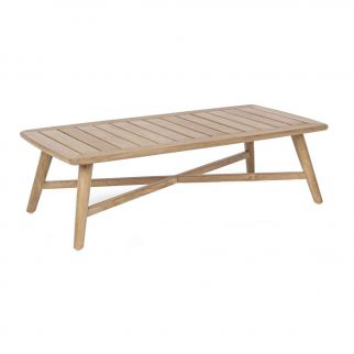 table basse teck massif