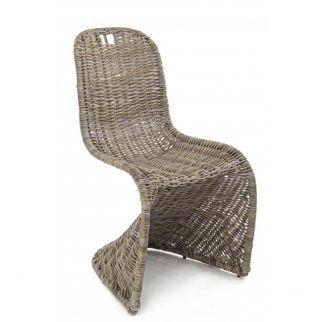 chaise kubu tressé