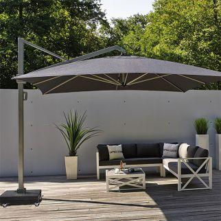 pied pour parasol d port 4x3 dalle en granite 150 kg arbonie