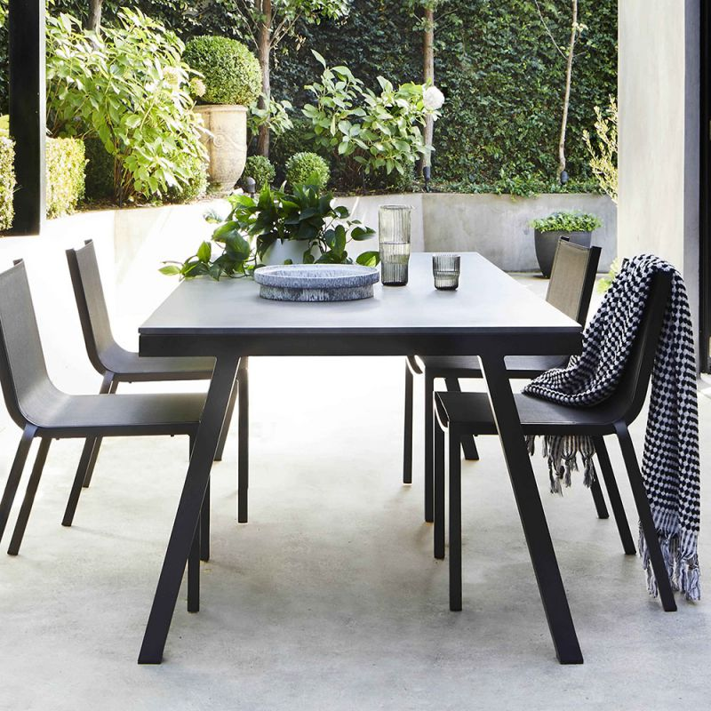 Table de jardin aluminium LUBANG