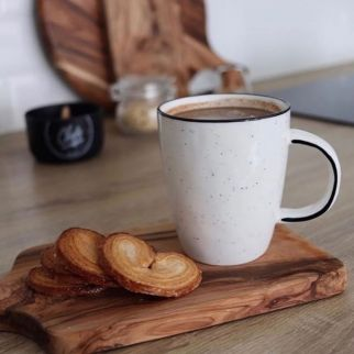 mug pomax basil blanc