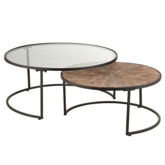 Tables basses rondes gigones