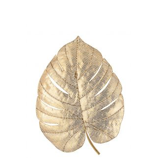 coupe decorative feuille or