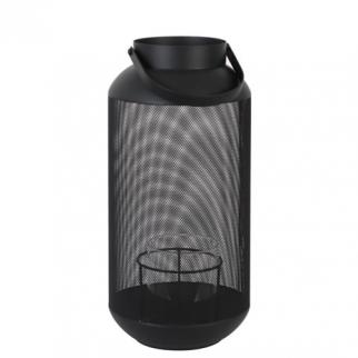 lanterne metal noir