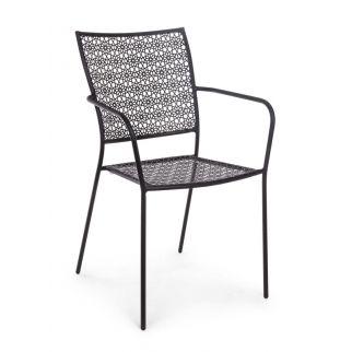 chaise de jardin acier