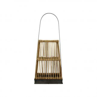 Lanterne bougie bambou
