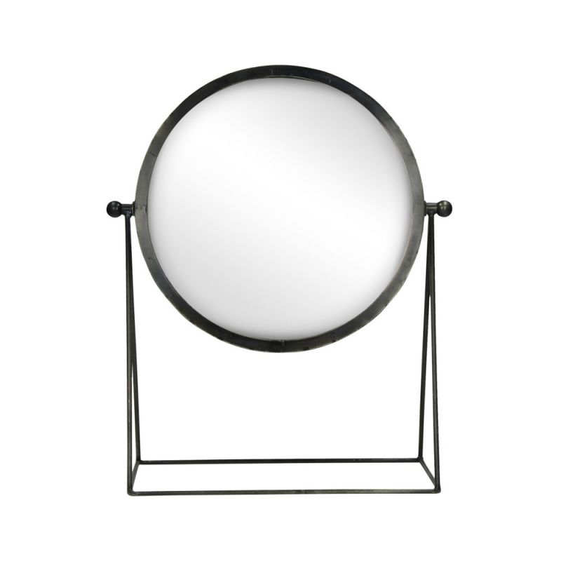 Miroir sur pied en métal POMAX Be Pretty