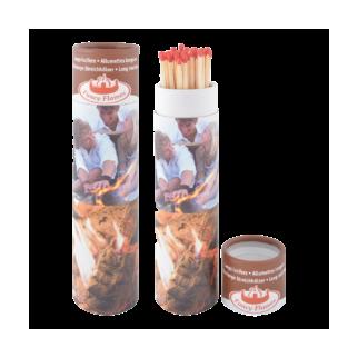 Longue allumettes en tubes