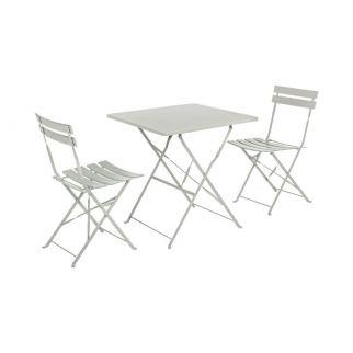table de jardin métallique