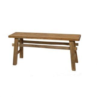 petit banc bois style campagne