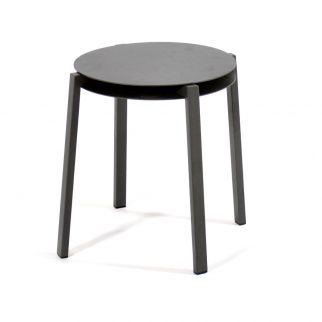 table d'appoint aluminium