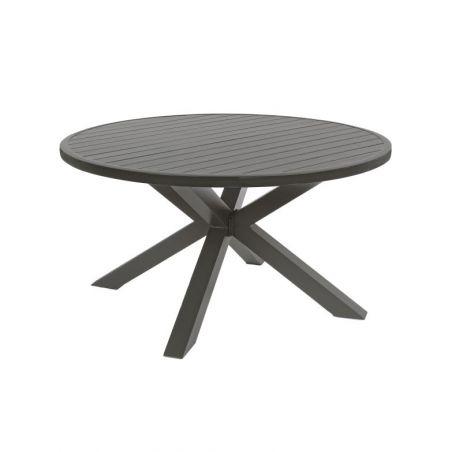 Ensemble table de jardin SKIPPER + 4 fauteuils PELICAN