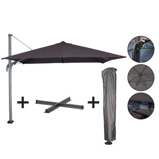 Ensemble parasol + pied +...