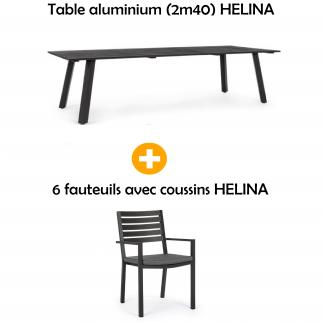 Salon de jardin table + 6...