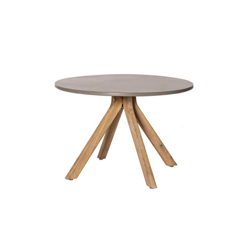 table basse ronde en bois