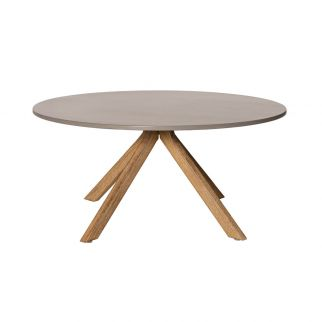 Table basse en bois Ø80 cm...
