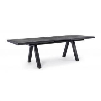 Table céramique extensible, table plateau céramique avec rallonge