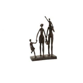 sculpture résine famille