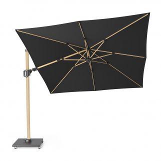 parasol déporté 3x3 noir