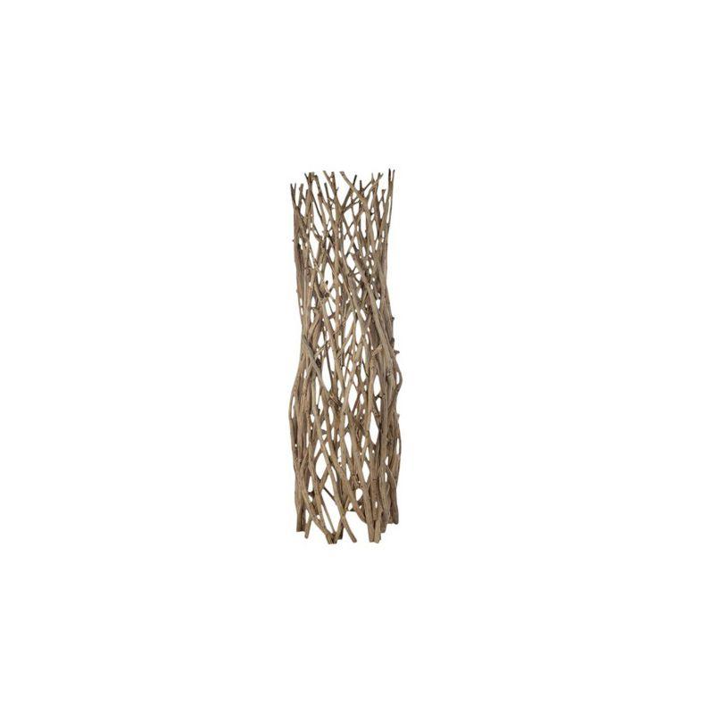 sculpture teck bois