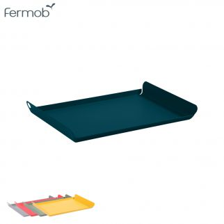 plateau table bleu