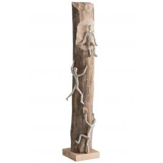 Statue grimpeurs - H75 cm